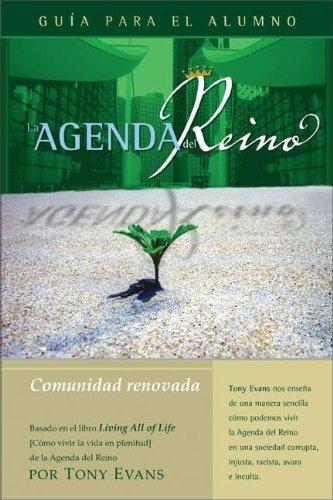 9780829746655: La Agenda del Reino Para Una Comunidad Renovada (Kingdom Agenda Spanish)