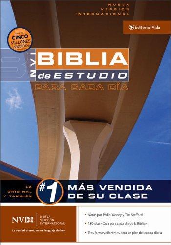 9780829748666: NVI La Biblia de Estudio Para Cada Dia, Tapa Dura