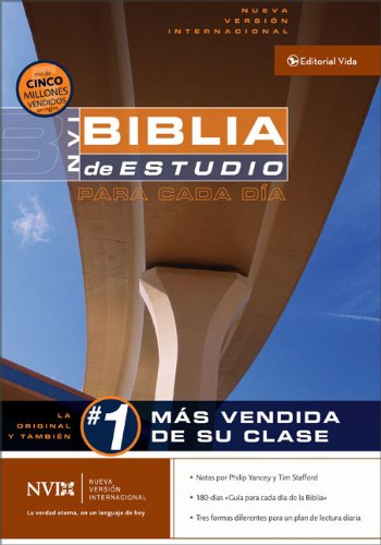 La Biblia de estudio para cada dia NVI (Spanish Edition): Zondervan