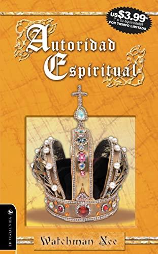 9780829750034: Autoridad Espiritual (Spanish Edition)