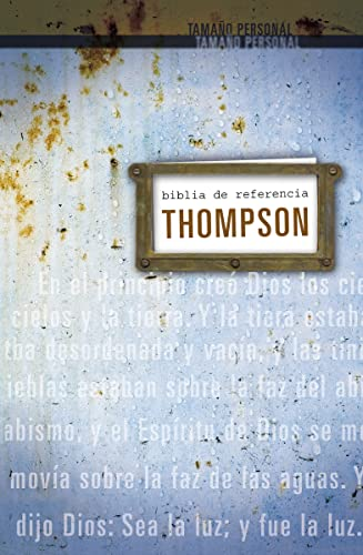 9780829750317: Biblia de referencia Thompson RVR 1960, tamaño personal (Spanish Edition)