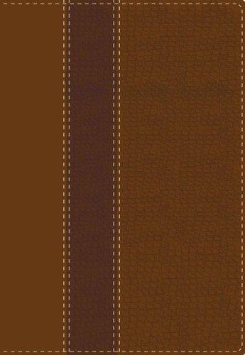 9780829752441: NVI Biblia de estudio, dos tonos italiano, marrón, tamaño personal (Spanish Edition)