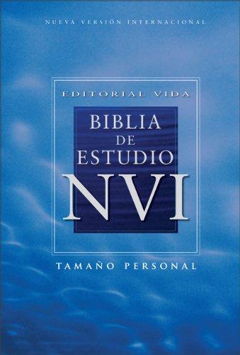 Editorial Vida Biblia de estudio NVI, tamaño personal, tapa dura (Spanish Edition): ...
