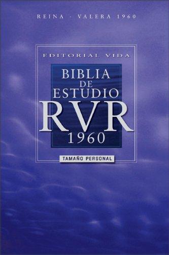 Editorial Vida Biblia de estudio RVR 1960, tamaño personal (Spanish Edition): Zondervan