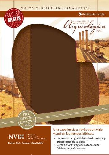 9780829753950: NVI Biblia arqueológica, cuero europeo (Spanish Edition)