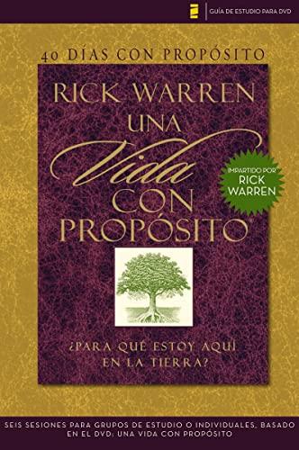 9780829756012: 40 Dias Con Proposito. Vida Con Proposito. Para Que Estoy Aqui en la Tierra? (DVD no incluido) (Guia De Estudio Para DVD)