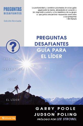 9780829756456: Preguntas desafiantes - Guía para el líder (Spanish Edition)