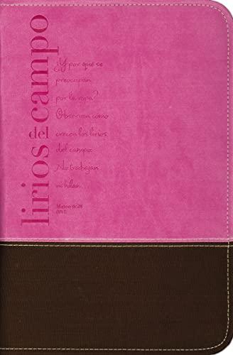 9780829757279: Lirios del Campo Fabric Grande Rosa Bible Cover