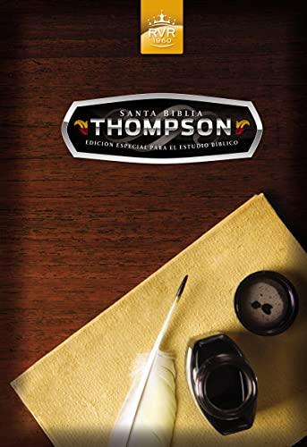 Santa Biblia Thompson edición especial para el estudio bíblico RVR 1960 (Spanish ...