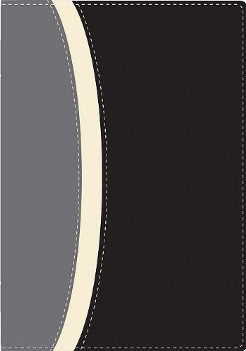 9780829759709: La Santa Biblia: Antiguo y Nuevo Testamento, Negro Gris Italiana a dos tonos, Biblia de Estudio Serie 50