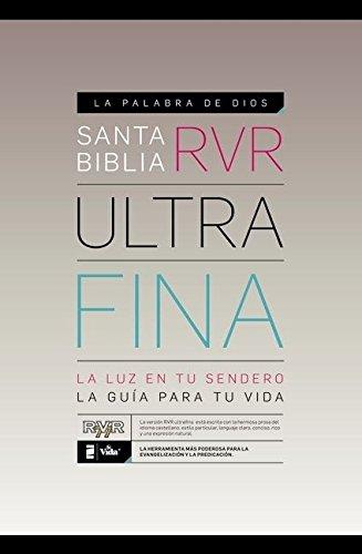 Santa Biblia ultrafina RVR (Spanish Edition) (9780829759969) by Zondervan
