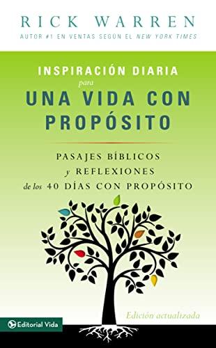 9780829760309: Inspiracion Diaria Para Una Vida Con Proposito = Daily Inspiration for a Life with Purpose