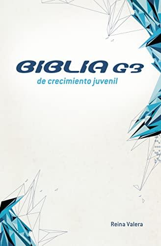 9780829765601: Biblia G3 de crecimiento juvenil RVR (Especialidades Juveniles) (Spanish Edition)