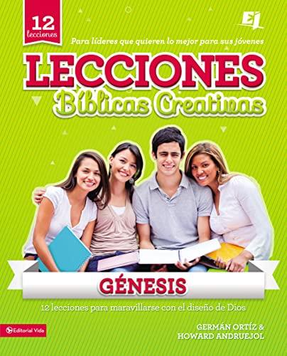 9780829765977: Lecciones Bíblicas Creativas: Génesis (Especialidades Juveniles / Lecciones bíblicas creativas) (Spanish Edition)