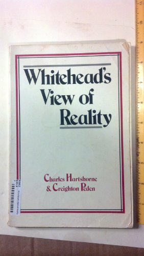 9780829803815: Whitehead's View of Reality