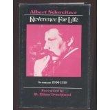 9780829803846: Reverence for Life: Sermons 1900-1919