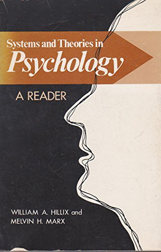 9780829900101: Systems and Theories in Psychology: A Reader
