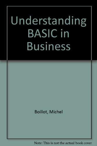 Understanding Basic in Business: Boillot, Michel H.