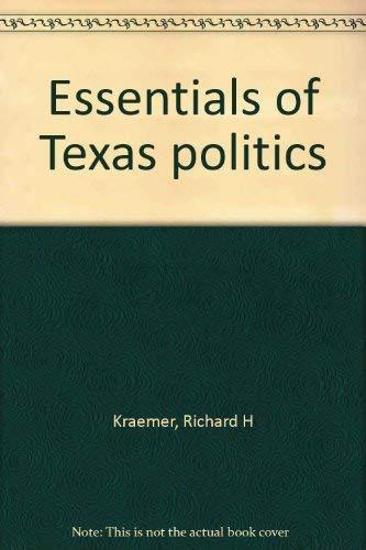 9780829902976: Essentials of Texas politics