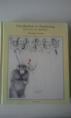 Introduction to Psychology: Exploration and Application (9780829903034) by Dennis Coon