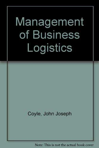 9780829903256: Management of Business Logistics