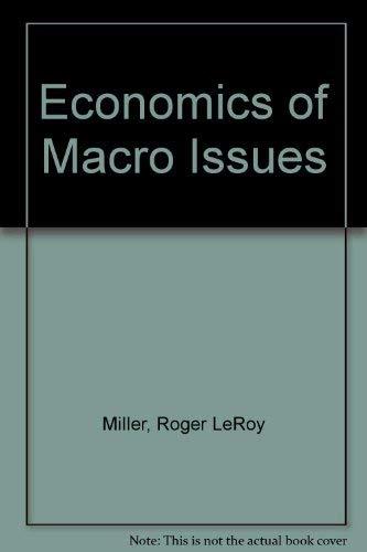 9780829903331: Economics of Macro Issues