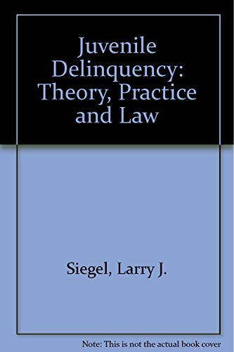 9780829904147: Juvenile Delinquency: Theory, Practice and Law