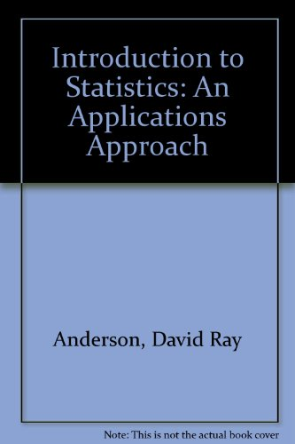 9780829904239: Introduction to Statistics: An Applications Approach