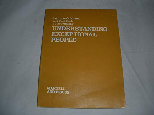 9780829904475: Understanding Exceptional People: Instructor's Manual
