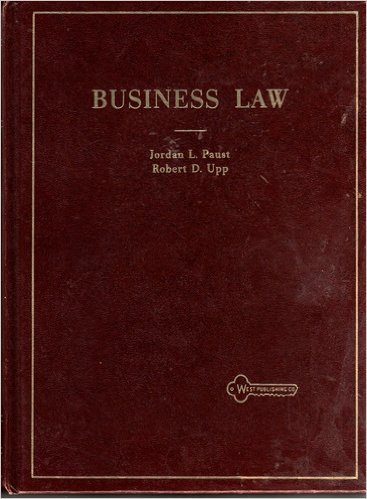 9780829920192: Business law text