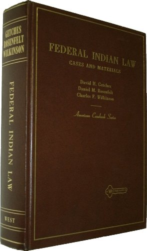 9780829920277: Cases and materials on Federal Indian law (American casebook series)