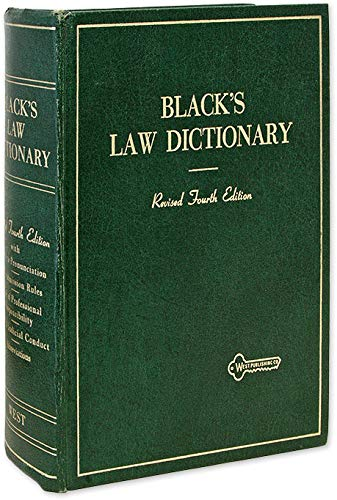 Black's Law Dictionary and West's Legal Thesaurus/Dictionary: Henry Campbell Black ...