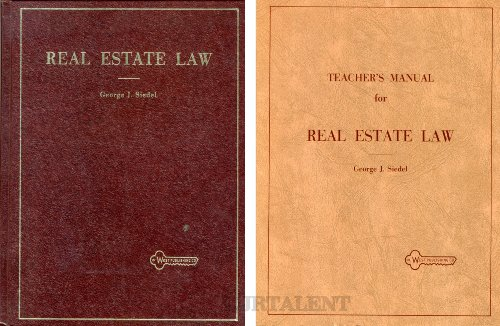 9780829920482: Real Estate Law