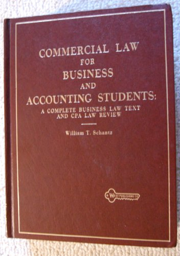 9780829920611: Commer Law for Business and Accounting Students