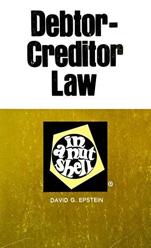 9780829920727: Debtor-creditor law in a nutshell (Nutshell series)
