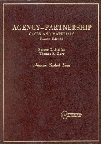 9780829920772: Agency Partnership Cases & Materials (American Casebooks)