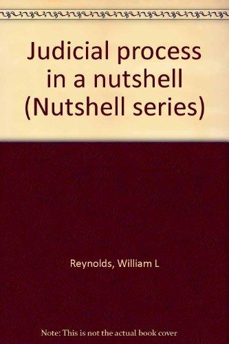 9780829920895: Judicial process in a nutshell (Nutshell series)