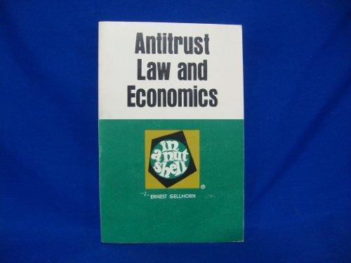 9780829921175: Antitrust law and economics in a nutshell (Nutshell series)