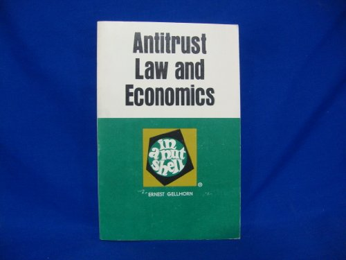 9780829921175: Antitrust law and economics in a nutshell (Nutshell series)