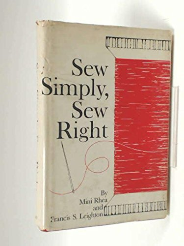 9780830300693: Sew Simply, Sew Right