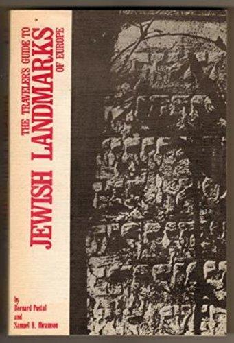 9780830301126: The Traveler's Guide to Jewish Landmarks of Europe
