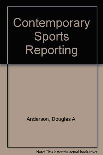 9780830410286: Contemporary Sports Reporting