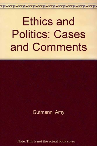 9780830411153: Title: Ethics and Politics Cases and Comments