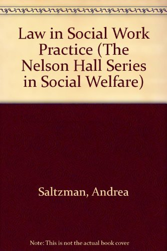 Stock image for Law in Social Work Practice for sale by ThriftBooks-Atlanta