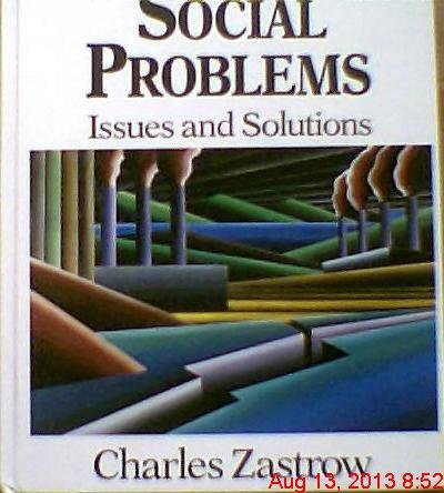 9780830411979: Social Problems: Issues and Solutions (The Nelson-Hall series in sociology)