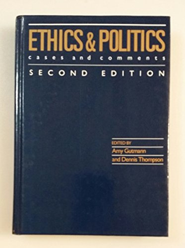 9780830412242: Ethics and Politics: Cases and Comments