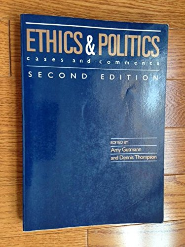 9780830412303: Ethics and Politics: Cases and Comments