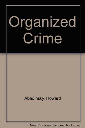 9780830412341: Organized Crime
