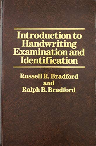 9780830412419: Introduction to Handwriting Examination and Identification