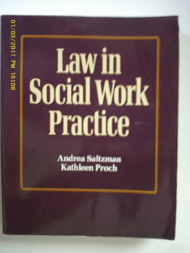 Stock image for Law in Social Work Practice for sale by Novel Ideas Books & Gifts